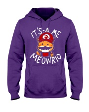 It's A Me - Meowrio Hooded Sweatshirt front