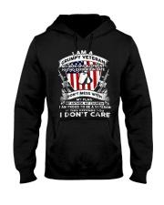 I Am A Grumpy Veteran Hooded Sweatshirt tile