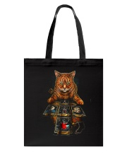 The Mysterious Cat Tote Bag tile