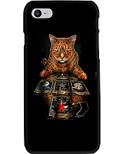 The Mysterious Cat Phone Case tile