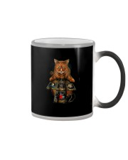 The Mysterious Cat Color Changing Mug tile