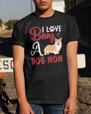 I Love Being A Dog Mom Classic T-Shirt apparel-classic-tshirt-lifestyle-29