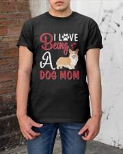 I Love Being A Dog Mom Classic T-Shirt apparel-classic-tshirt-lifestyle-31