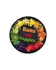 Runs On Veggies Circle Cutting Board thumbnail