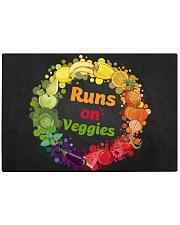 Runs On Veggies Rectangle Cutting Board front