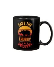 Save The Chubby Unicorns Mug tile