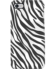 Zebra Skin Phone Case i-phone-8-case