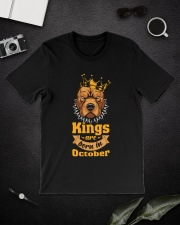 King Are Born In October Classic T-Shirt lifestyle-mens-crewneck-front-16