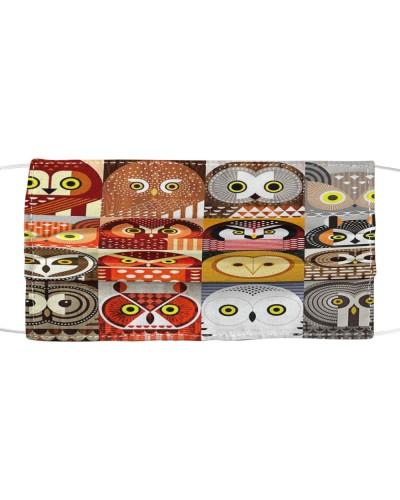 Face Mask Owls