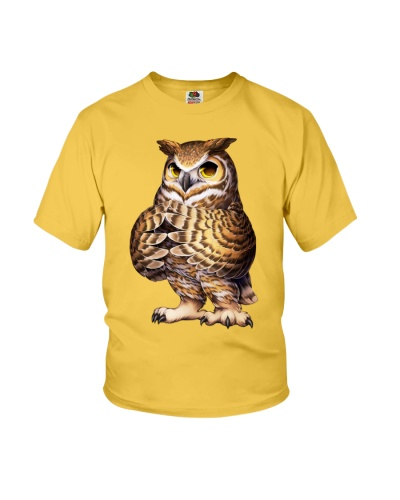 Draw a night owl shirt