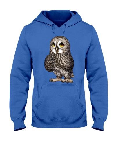 Draw a night owl shirt