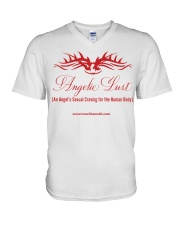 Angelic Lust 2 V-Neck T-Shirt thumbnail
