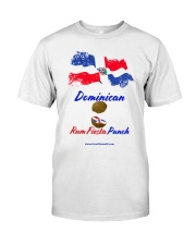 Dominican Rum Fiesta Punch - Flag 2 Classic T-Shirt tile