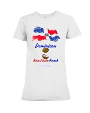 Dominican Rum Fiesta Punch - Flag 2 Premium Fit Ladies Tee thumbnail