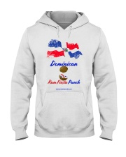 Dominican Rum Fiesta Punch - Flag 2 Hooded Sweatshirt thumbnail