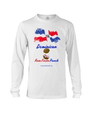 Dominican Rum Fiesta Punch - Flag 2 Long Sleeve Tee thumbnail