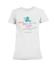 Crazy Zany COCo LoCO Chilled Caribbean Pop Shots Premium Fit Ladies Tee thumbnail