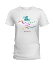 Crazy Zany COCo LoCO Chilled Caribbean Pop Shots Ladies T-Shirt thumbnail