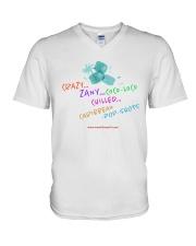 Crazy Zany COCo LoCO Chilled Caribbean Pop Shots V-Neck T-Shirt thumbnail