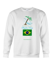 Tropical Brazilian Breeze Flag 2 Crewneck Sweatshirt thumbnail