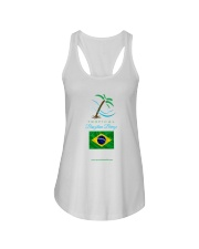 Tropical Brazilian Breeze Flag 2 Ladies Flowy Tank thumbnail
