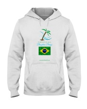 Tropical Brazilian Breeze Flag 2 Hooded Sweatshirt thumbnail