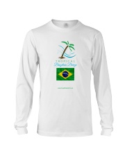 Tropical Brazilian Breeze Flag 2 Long Sleeve Tee thumbnail