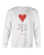 A Sensual Heart's Wet Dream Crewneck Sweatshirt thumbnail