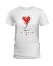 A Sensual Heart's Wet Dream Ladies T-Shirt thumbnail