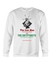 The Iron Man vs The Kryptonite Crewneck Sweatshirt thumbnail