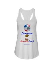 Dominican Rum Fiesta Punch - Beach Ball Flag Ladies Flowy Tank thumbnail