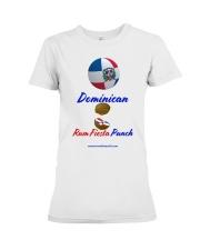 Dominican Rum Fiesta Punch - Beach Ball Flag Premium Fit Ladies Tee thumbnail