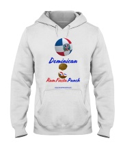 Dominican Rum Fiesta Punch - Beach Ball Flag Hooded Sweatshirt thumbnail