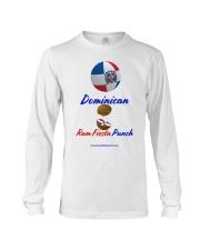 Dominican Rum Fiesta Punch - Beach Ball Flag Long Sleeve Tee thumbnail
