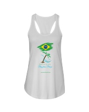 Tropical Brazilian Breeze Flag 1 Ladies Flowy Tank thumbnail
