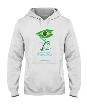 Tropical Brazilian Breeze Flag 1 Hooded Sweatshirt thumbnail