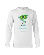 Tropical Brazilian Breeze Flag 1 Long Sleeve Tee thumbnail