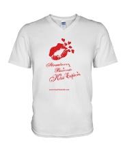 Strawberry Passionate Kiss Euphoria V-Neck T-Shirt thumbnail