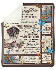 Gift for daughter Sherpa Fleece Blanket tile