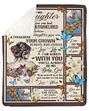 "Gift for daughter Sherpa Fleece Blanket - 50"" x 60"" thumbnail"