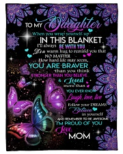 """Gift for daughter Small Fleece Blanket - 30"""" x 40"""" front"""