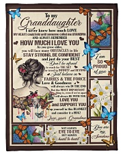 "Gift for granddaughter Small Fleece Blanket - 30"" x 40"" front"