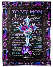 "Gift for mom Small Fleece Blanket - 30"" x 40"" front"