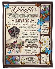 "Gift for daughter 02 Small Fleece Blanket - 30"" x 40"" front"