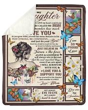 "Gift for daughter 02 Sherpa Fleece Blanket - 50"" x 60"" thumbnail"