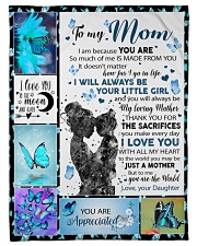 "Gift for daughter Small Fleece Blanket - 30"" x 40"" front"