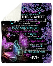 "Gift for daughter Sherpa Fleece Blanket - 50"" x 60"" thumbnail"