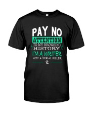 Pay No Attention To My Browsing History Premium Fit Mens Tee thumbnail