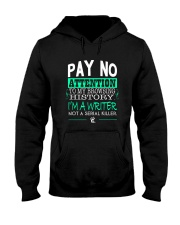 Pay No Attention To My Browsing History Hooded Sweatshirt front