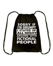 Grumpy Writer Drawstring Bag thumbnail